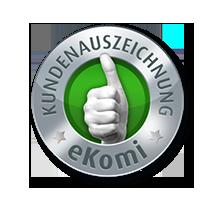 eKomi bestätigt die hohe Kundenzufriedenheit