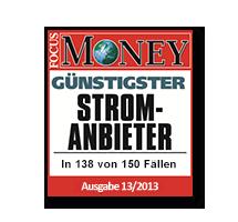 Günstigster Stromanbieter für Bonus-Tarife in 2013