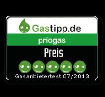 Sehr günstige Preise nach Gasanbietertest
