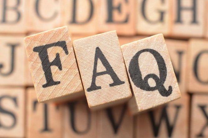 FAQ - Antworten zu häufig gestellten Fragen